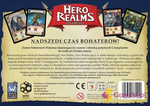 Hero realms tył