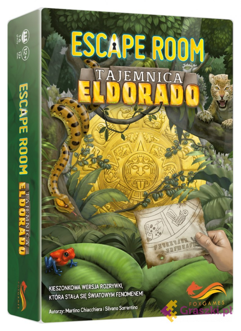 Escape Room Tajemnica Eldorado