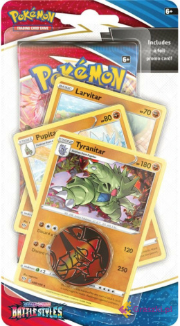 Pokemon Battle Styles - Premium Checklane Blister Tyranitar