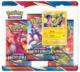 Pokemon TCG: Battle Styles - 3-pack Blister - Jolteon