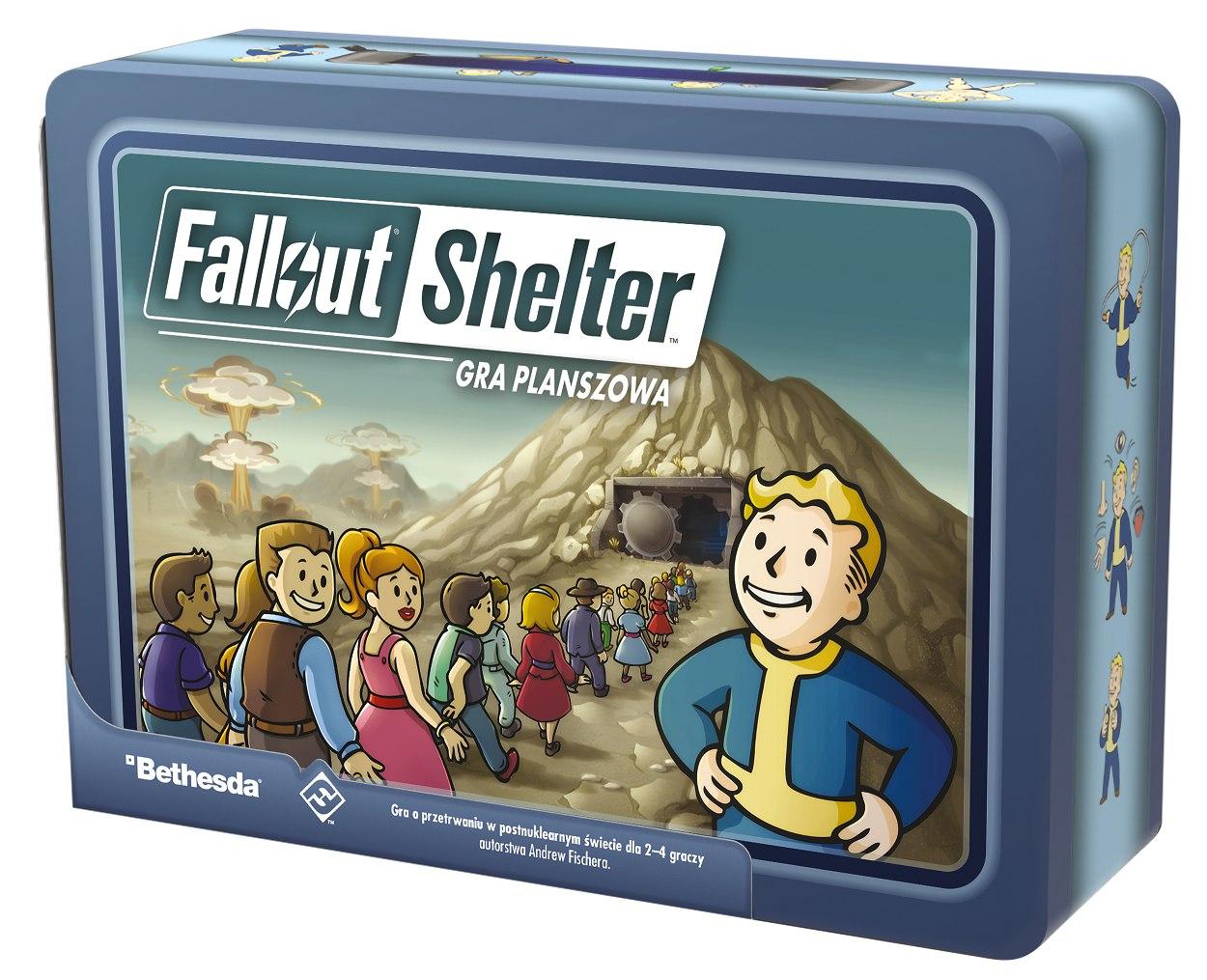 Fallout Shelter opakowanie