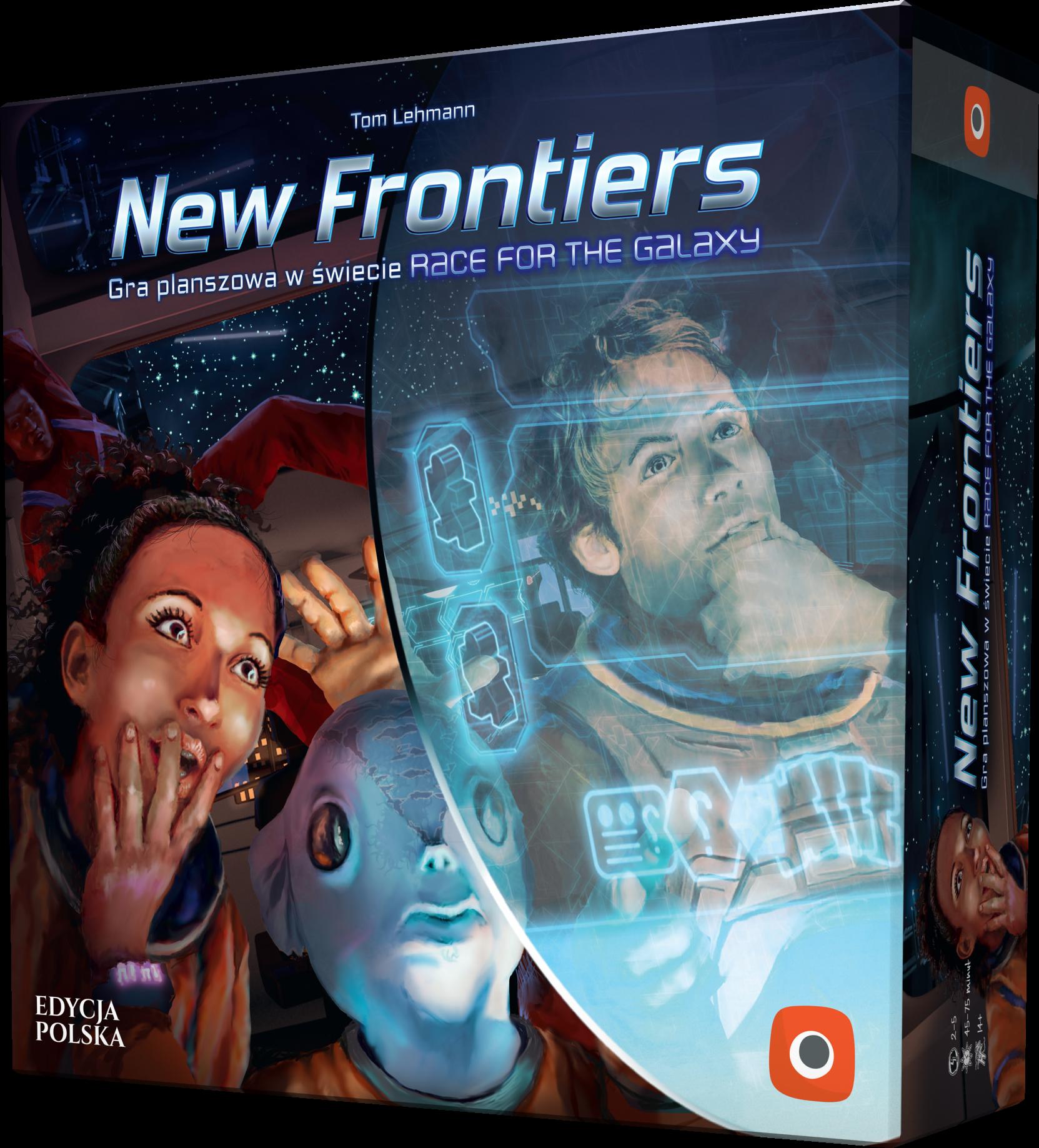 new frontiers opakowanie